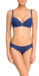 AMORE A PRIMA VISTA BASIC LACE NEW BLU Slip 29226