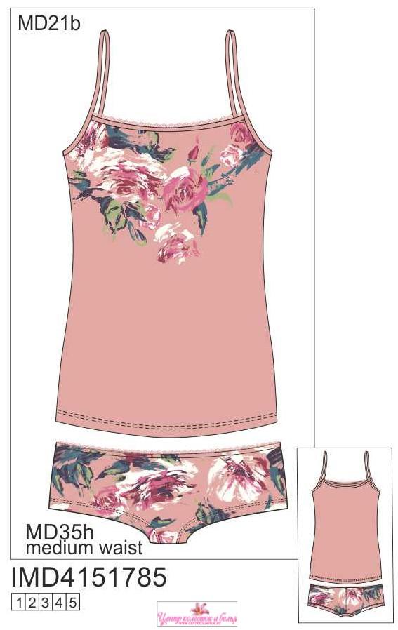 Набор майка и шорты INNAMORE ARTE IMD4151785