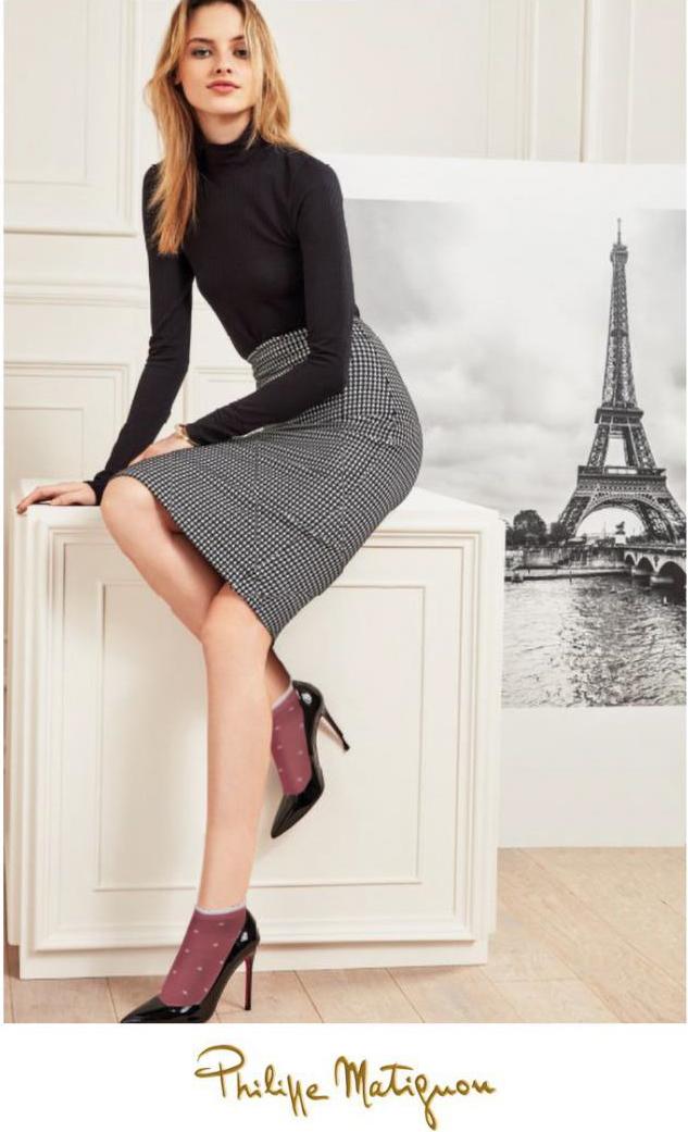 Женские носки Philippe Matignon PHM851