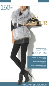 Колготки GLAMOUR Cotton Touch 160