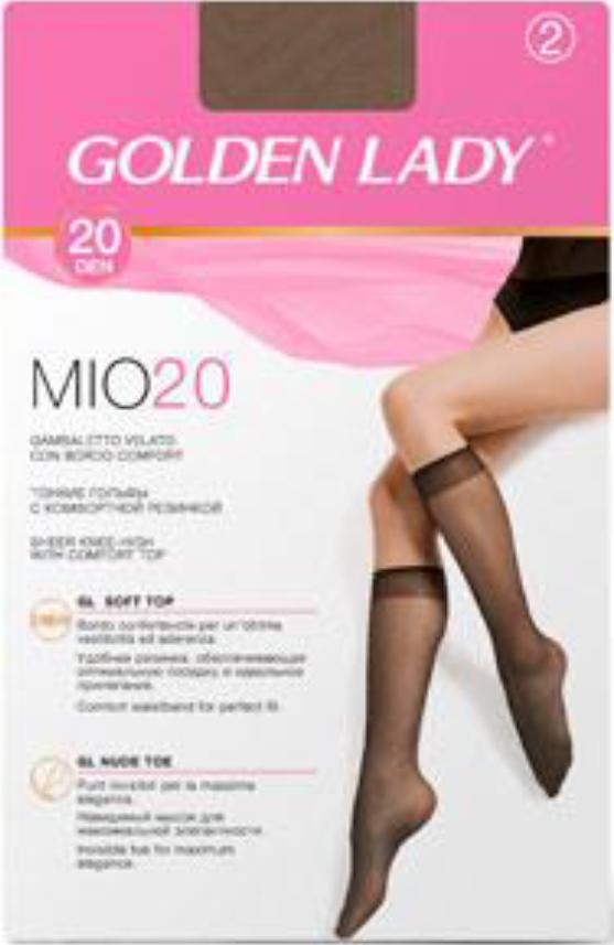 Гольфы GOLDEN LADY Mio 20 (2 пары)