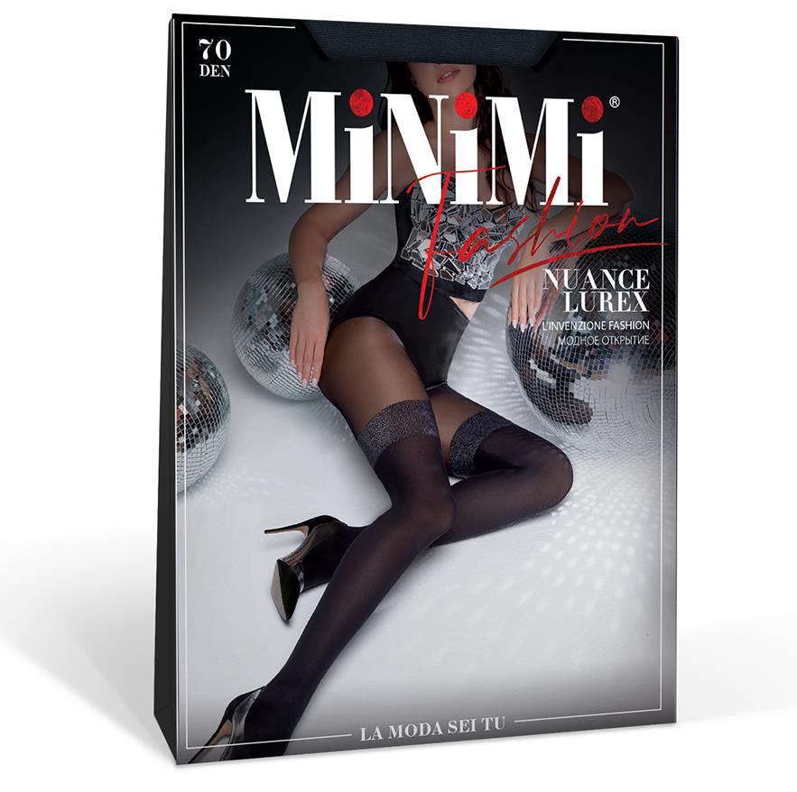 Колготки MINIMI Nuance Lurex 70 #2