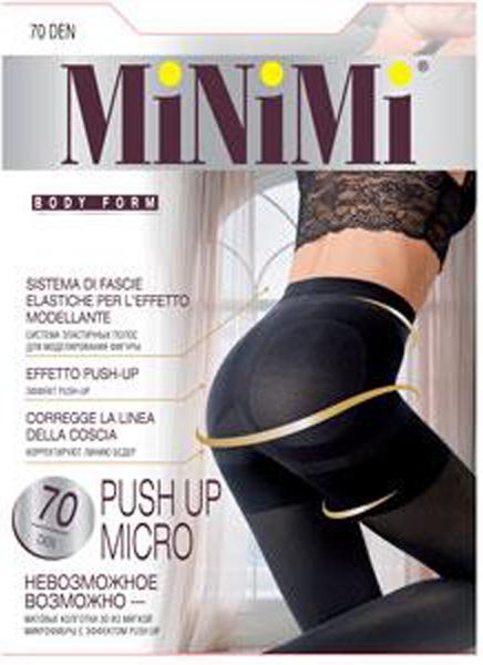 Колготки MINIMI Push Up Micro 3D 70
