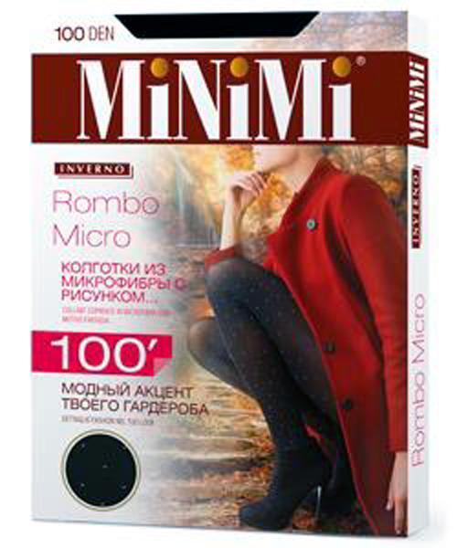 Колготки MINIMI Rombo Micro 100