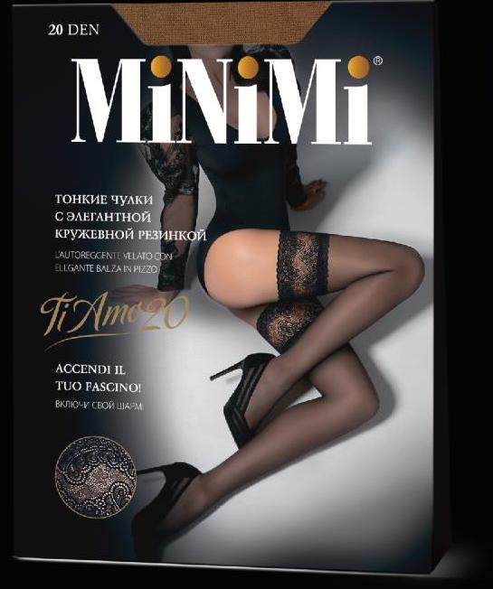 Чулки MINIMI Ti Amo 20