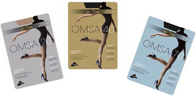 колготки Omsa 20, Omsa 40 и Omsa 70