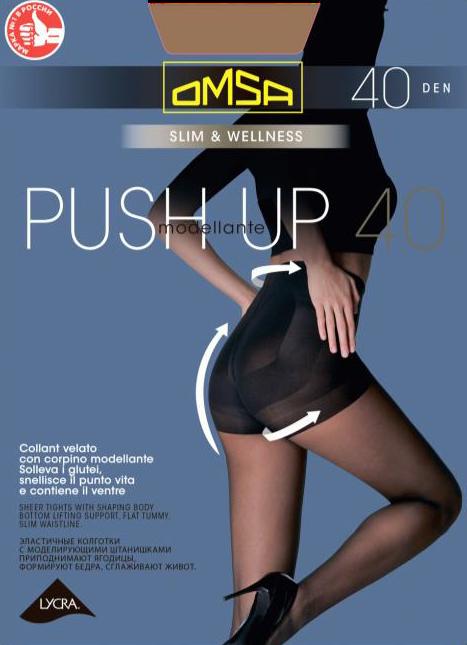 Колготки OMSA Push Up 40