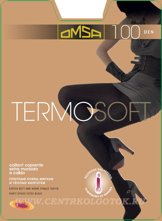 Колготки OMSA Termosoft 100