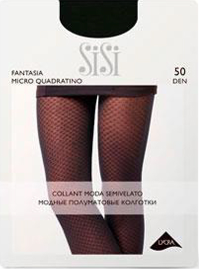 Колготки SISI Fantasia Micro Quadratino 50