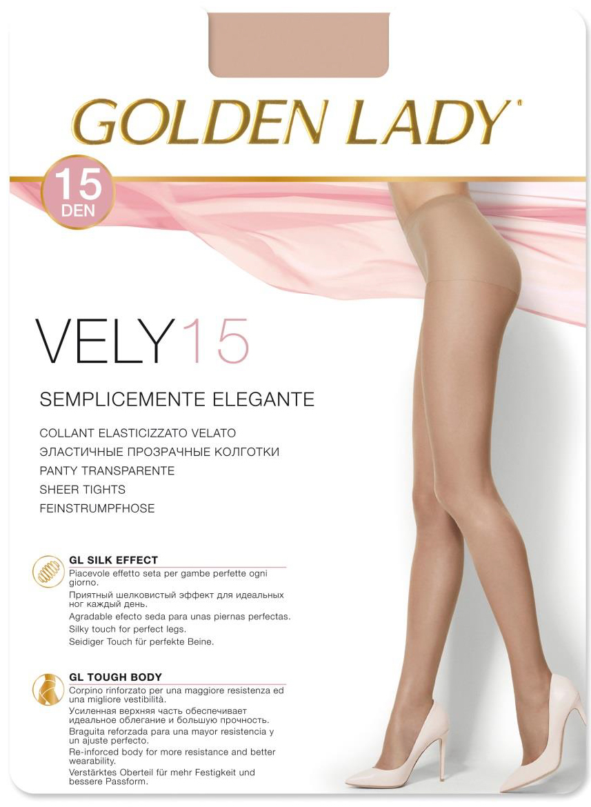 Колготки GOLDEN LADY Vely 15