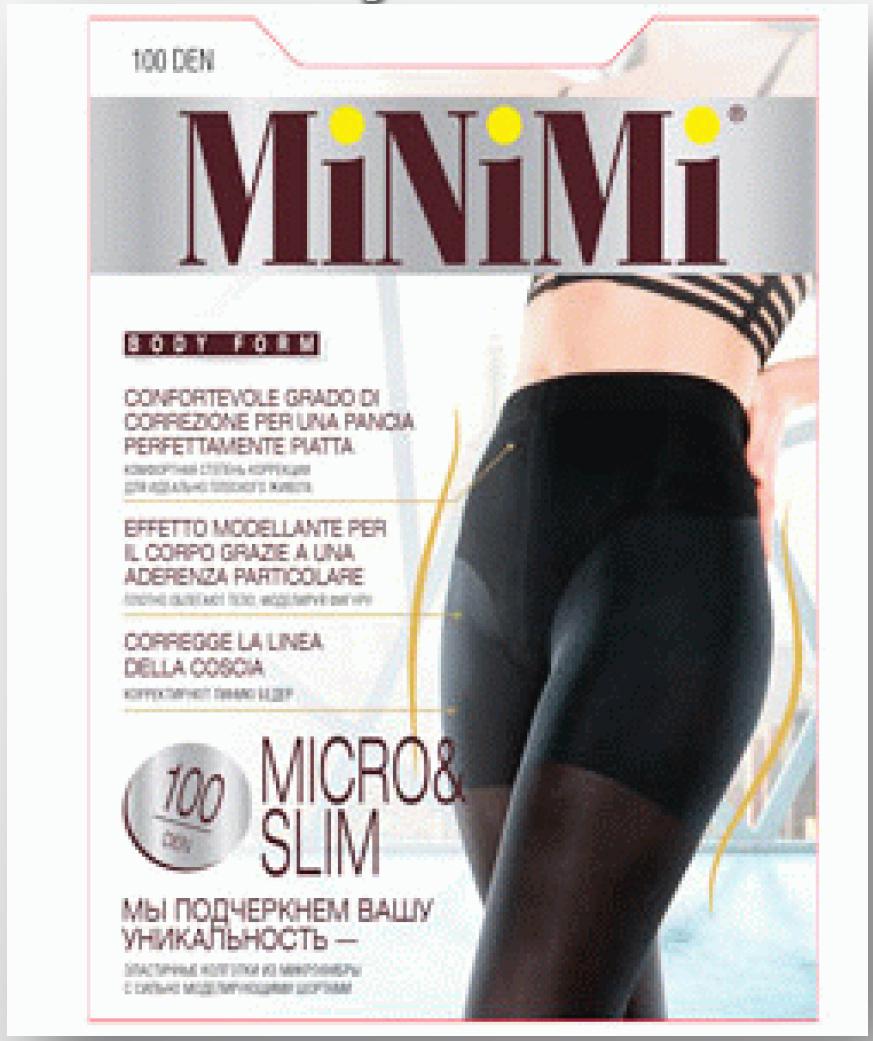 Колготки MINIMI Micro & Slim 100